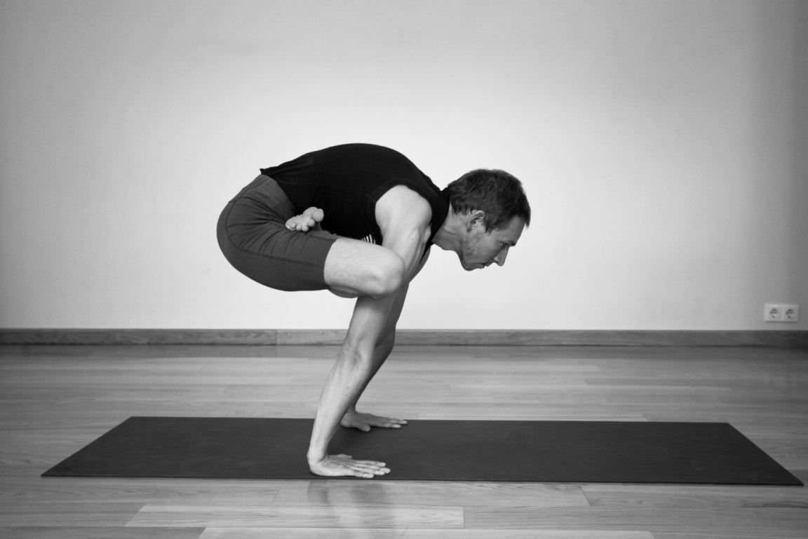 Urdhva Kukkutasana (var 1) | yogasana
