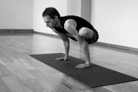 Urdhva Kukkutasana | yogasana